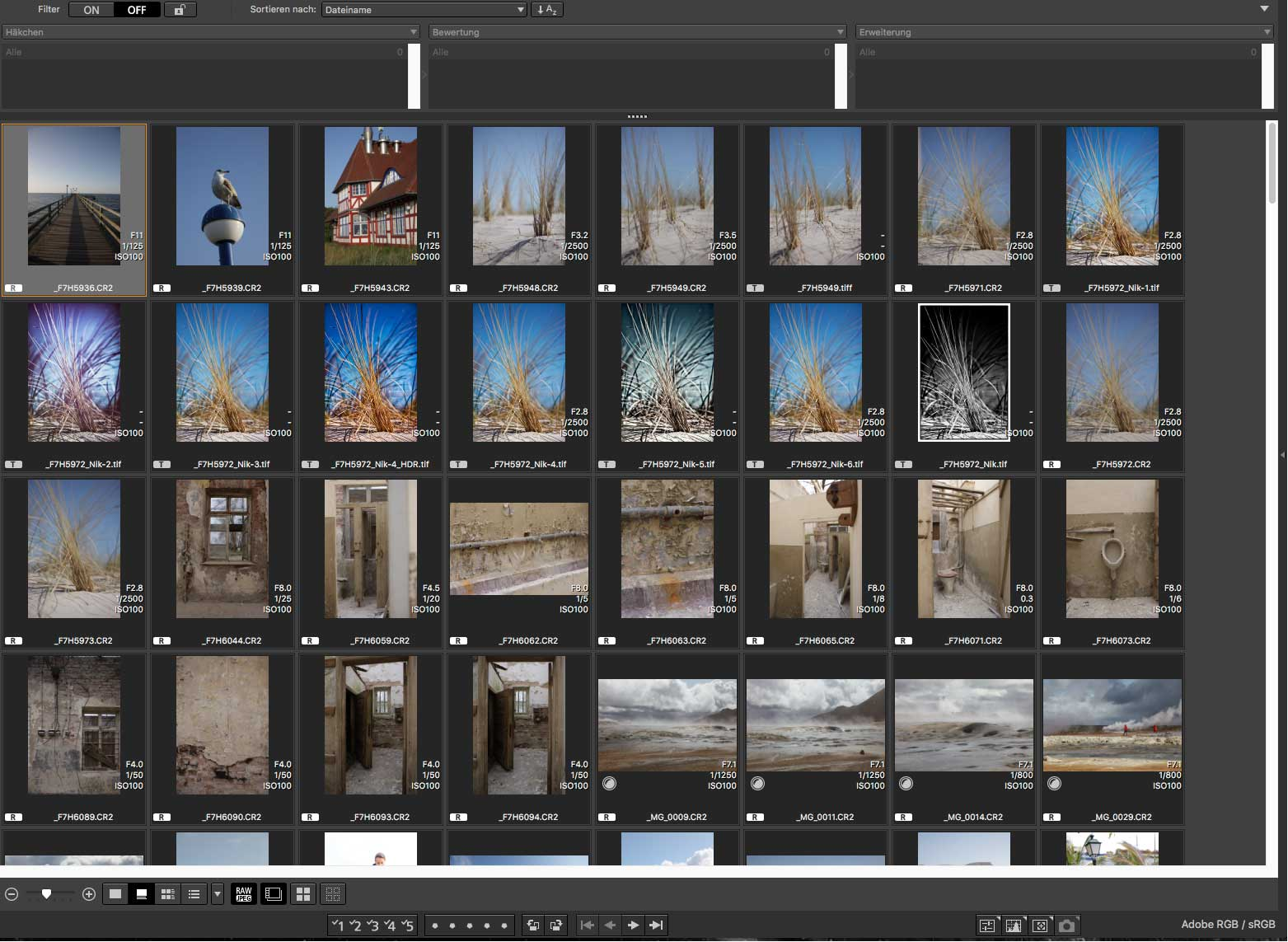 Digital Photo Professional (1): Workflow