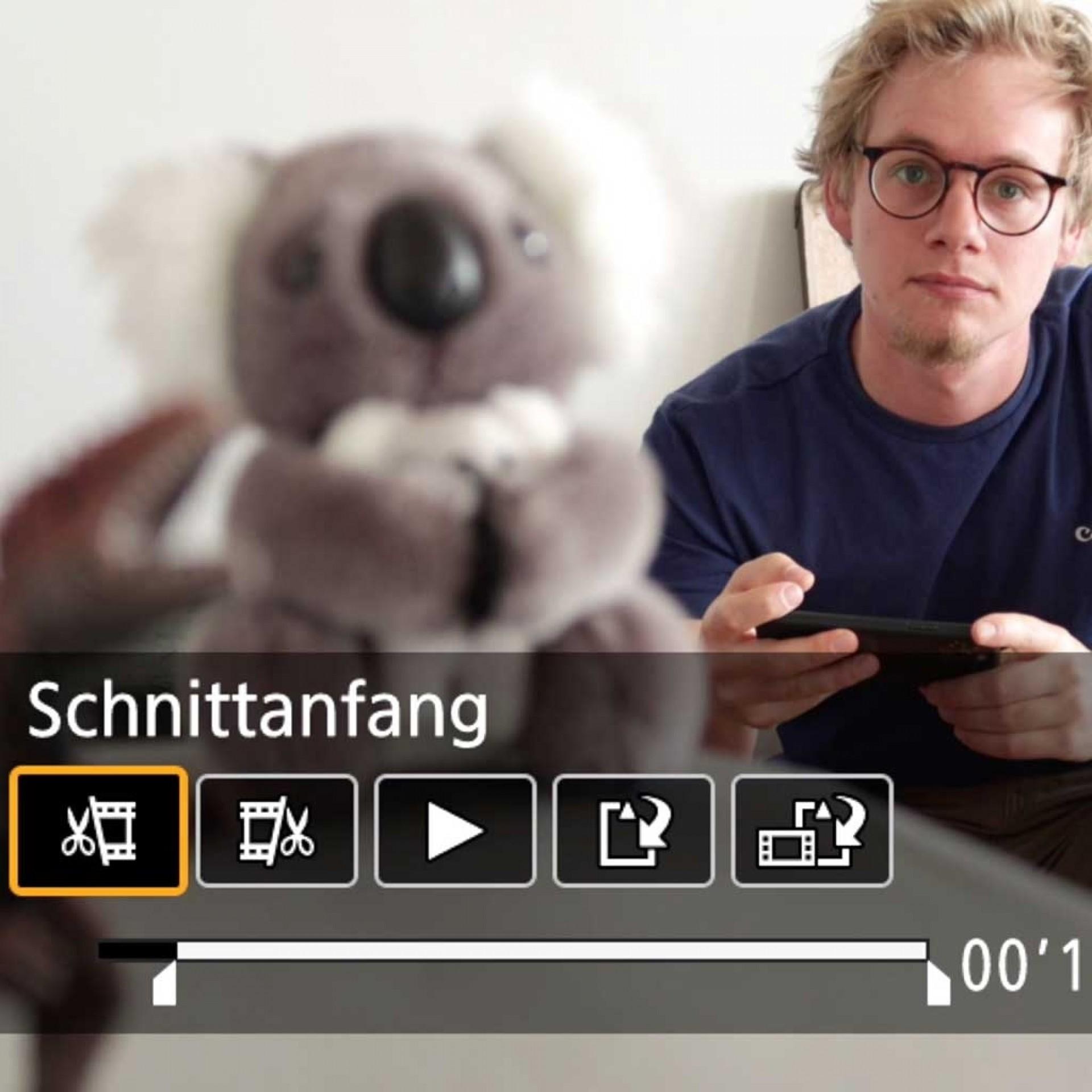 Videobearbeitung in der Kamera, PowerShot G7 X Mark III