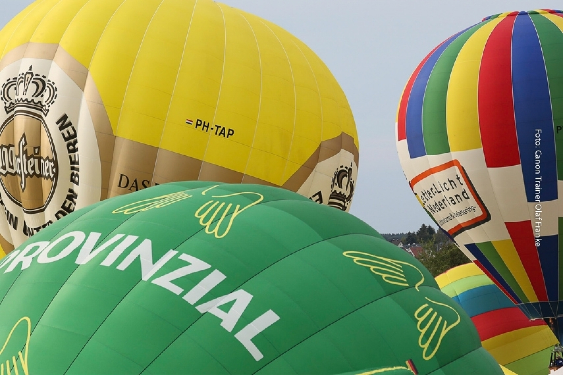Canon Academy Fotokurs im Rahmen des int. Heißluftballonfestivals (Montgolfiade - WIM) in Warstein (Sauerland)