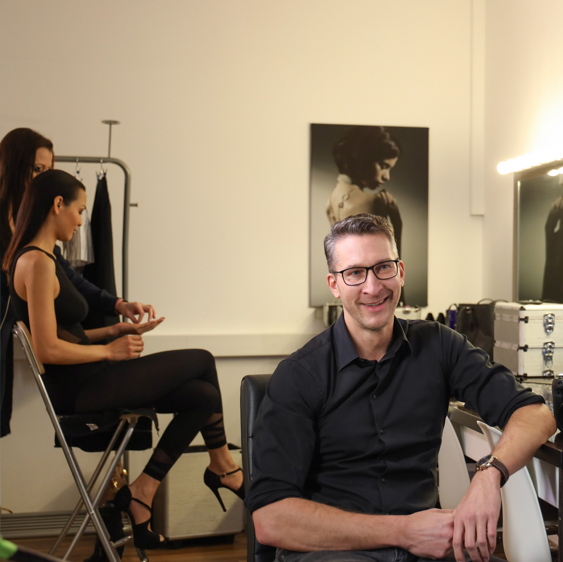 Sascha Hüttenhain, Vorbereitung Portrait Shooting
