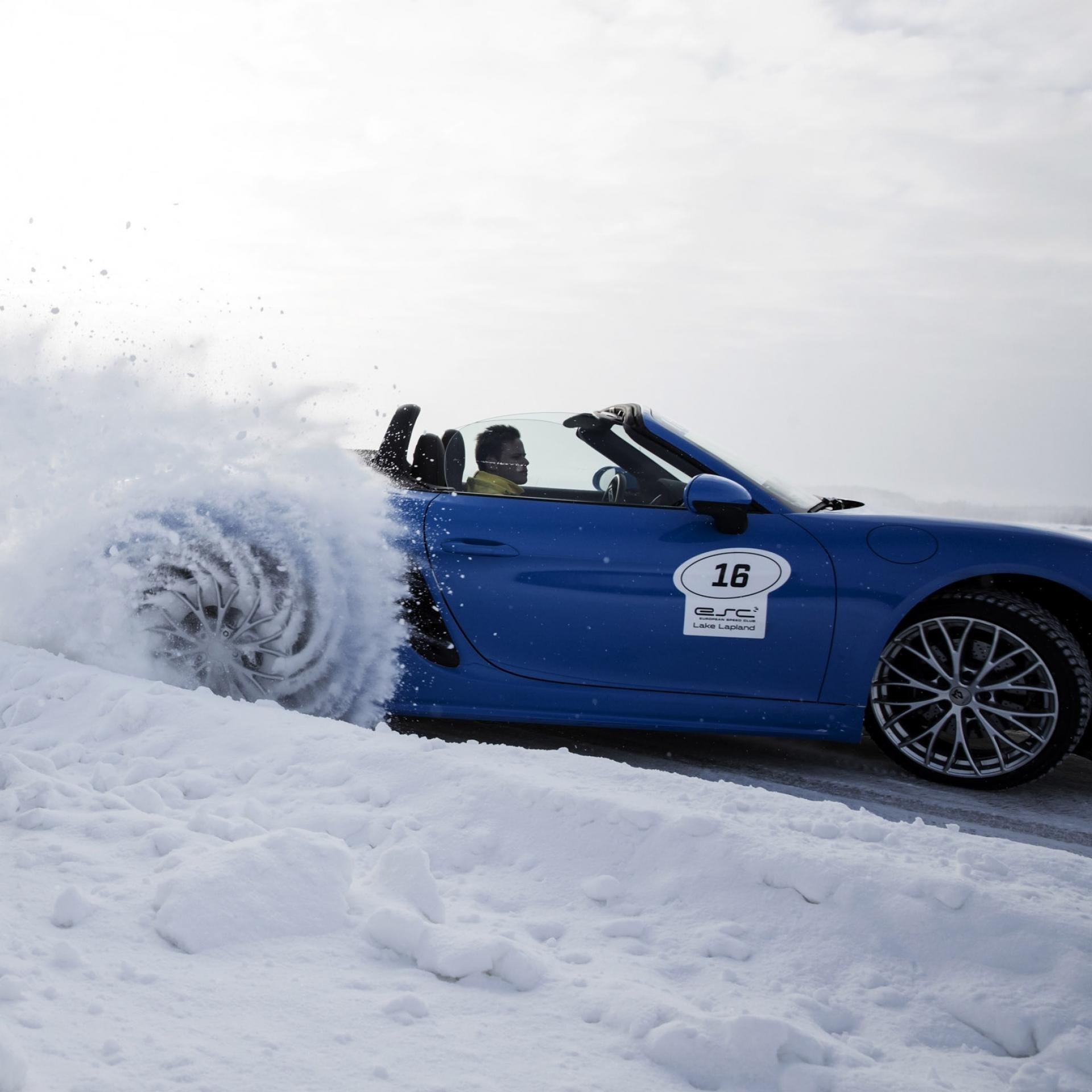 Actionfotos im Schnee