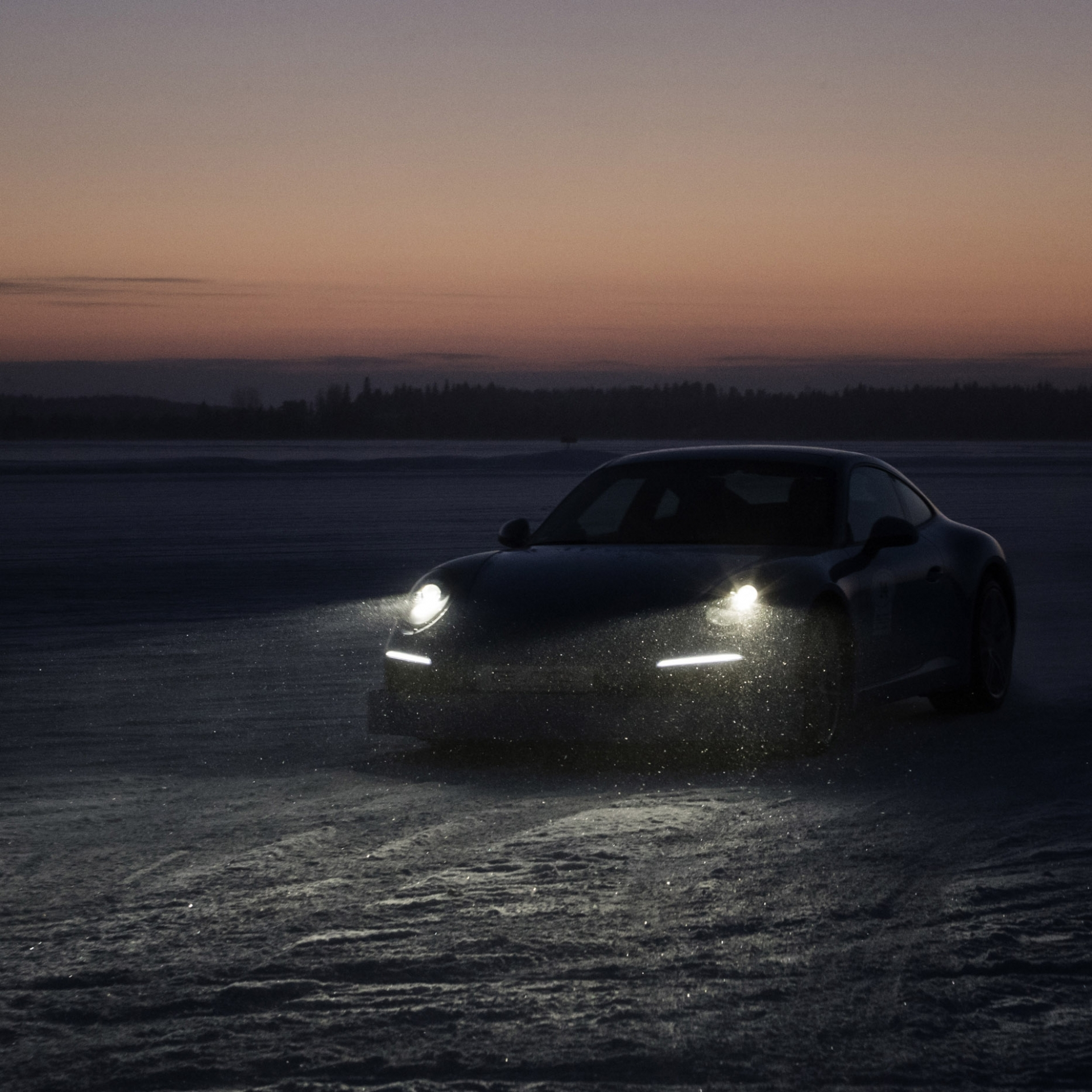 Low Light, Fotografie, Winter, Porsche