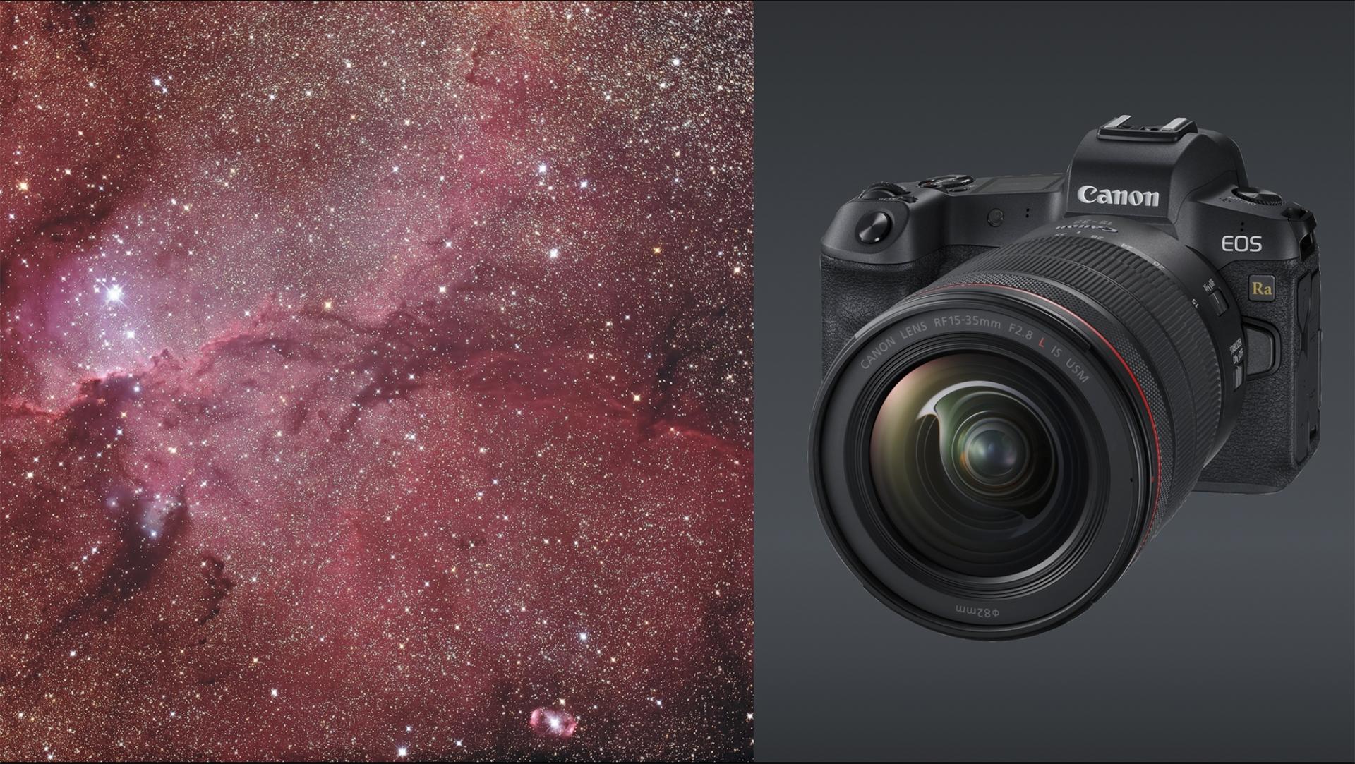 Sternenhimmel und EOS Ra