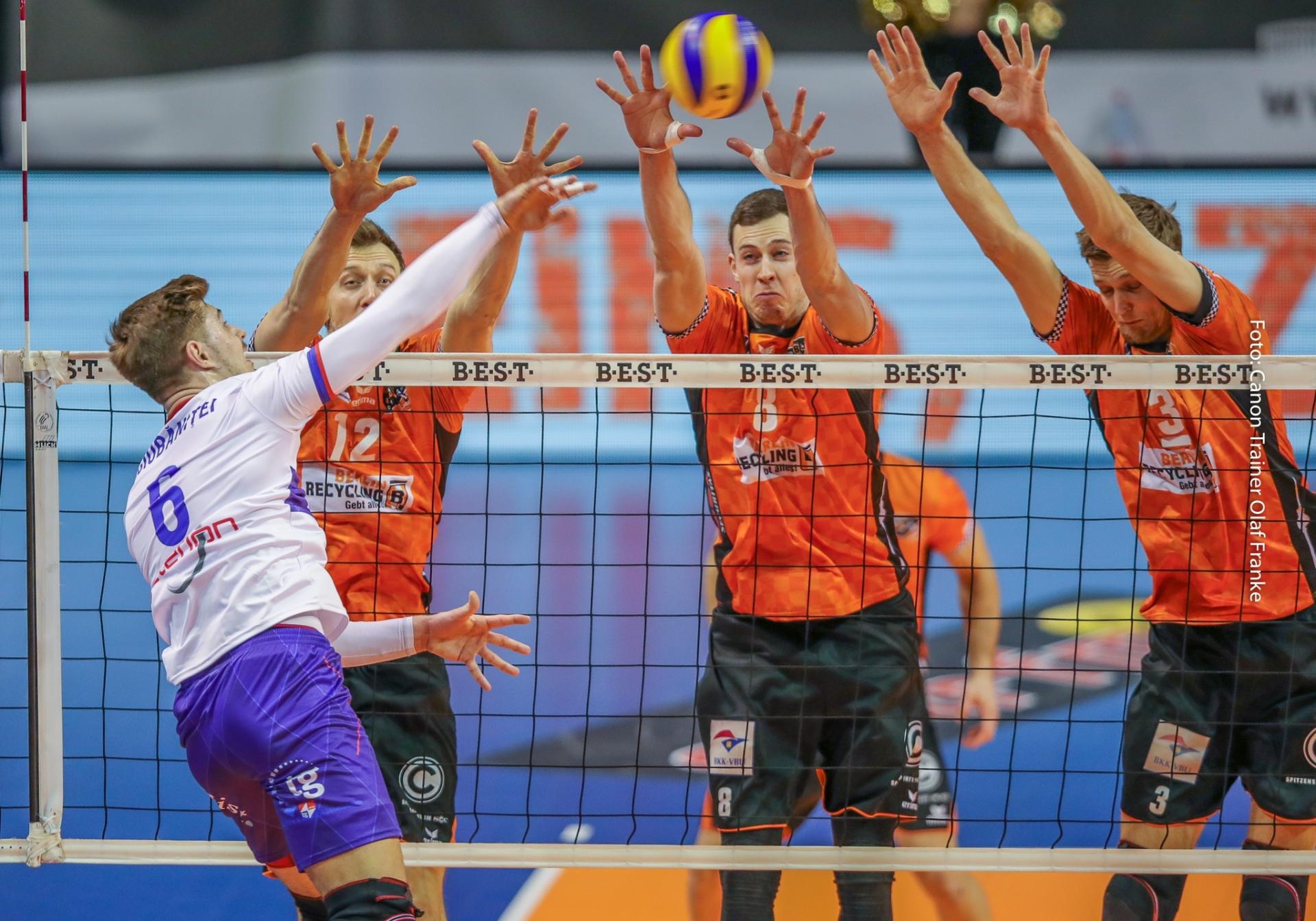 Volleyball Bundesliga bei den BR Volleys, inkl. online Bildbesprechung - Canon Academy Sport