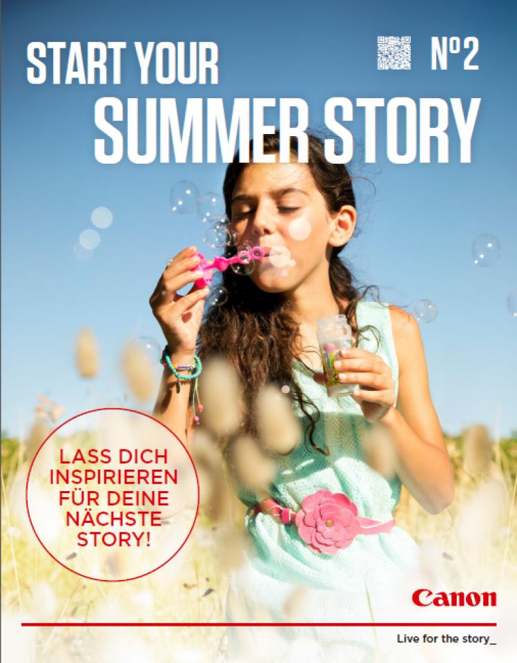 Das Canon Sommer Magazin