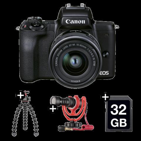 EOS M50 Mark II Vlogging Kit