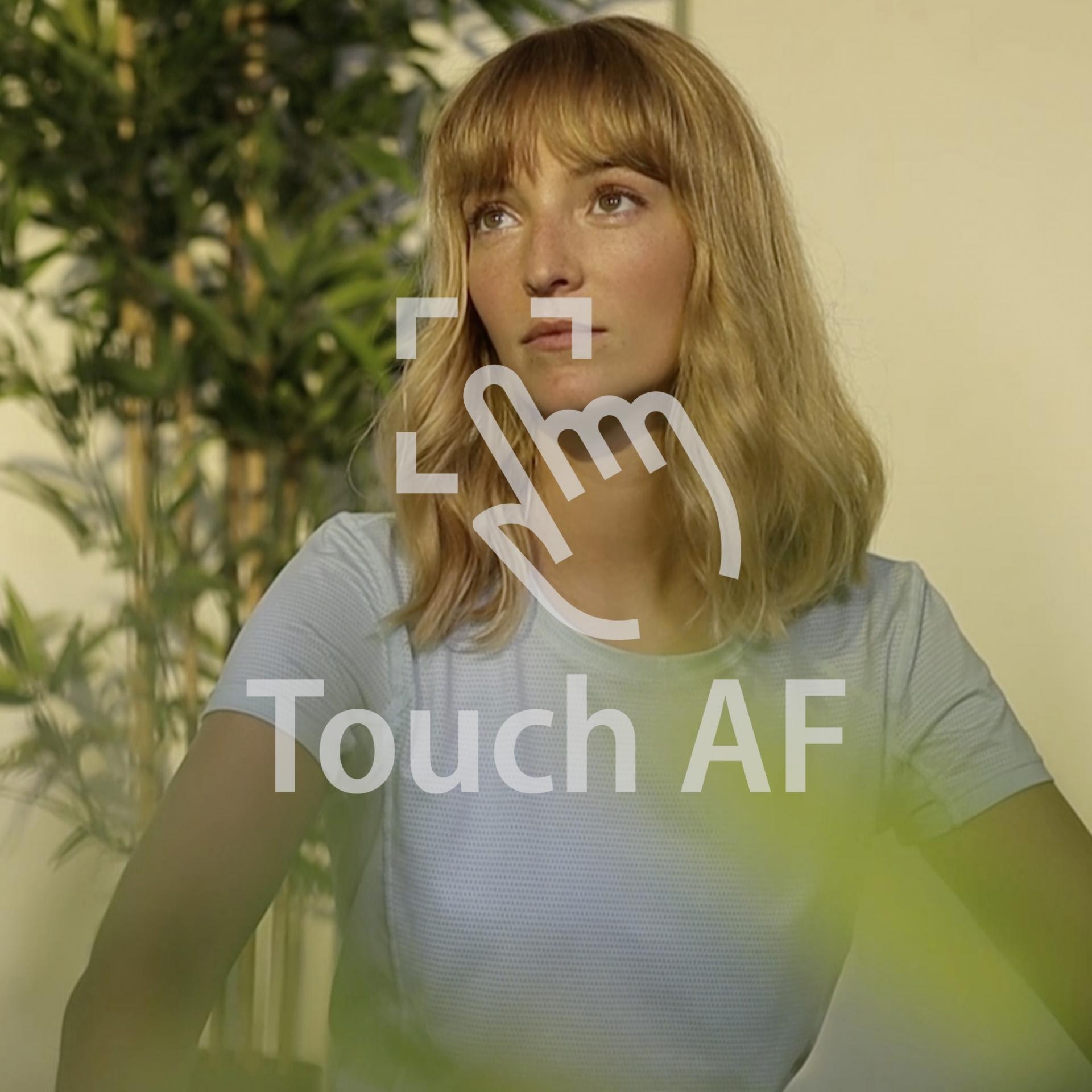 Canon, Filmen mit der EOS, Autofokus, Touch Autofocus