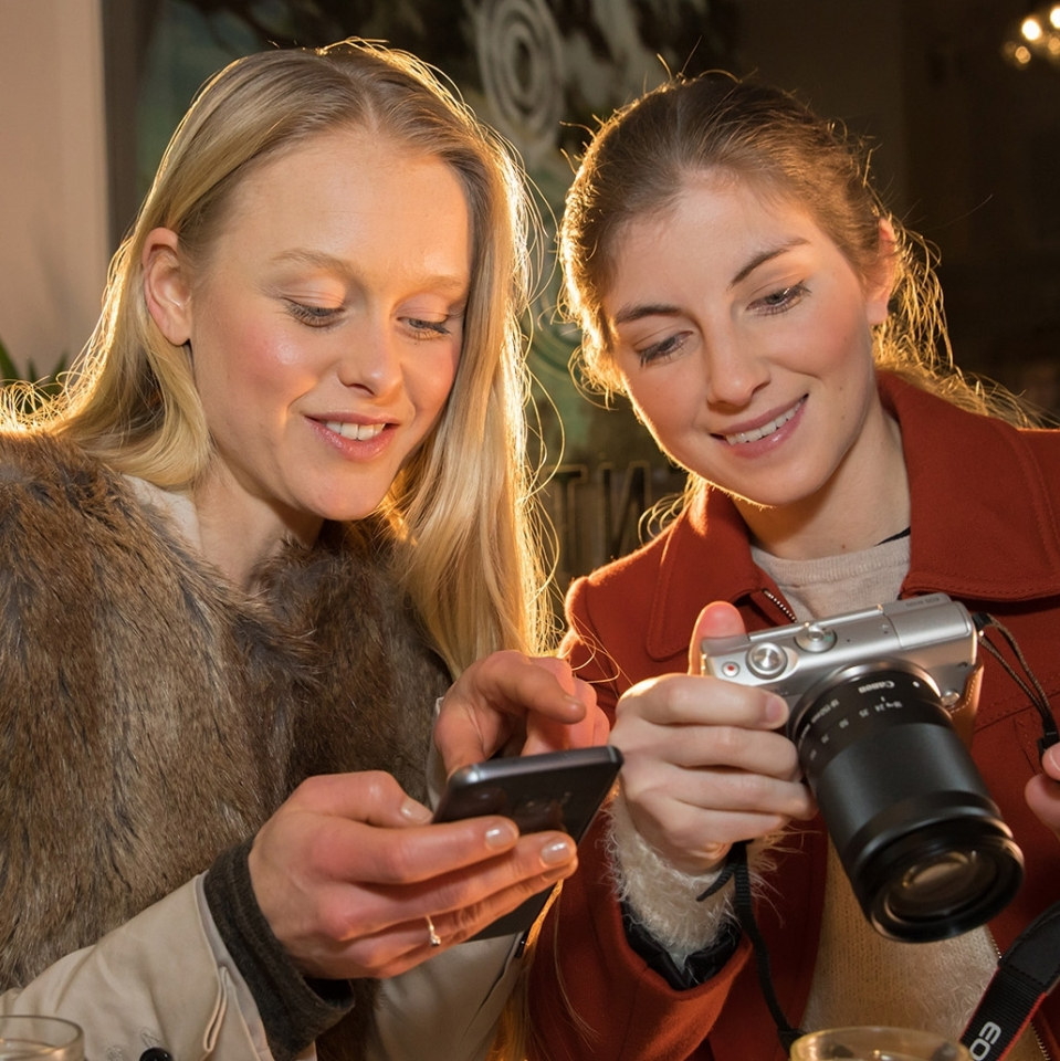 EOS M100, GNTM, Germanys Next Top Model, Fotos auf Handy übertragen