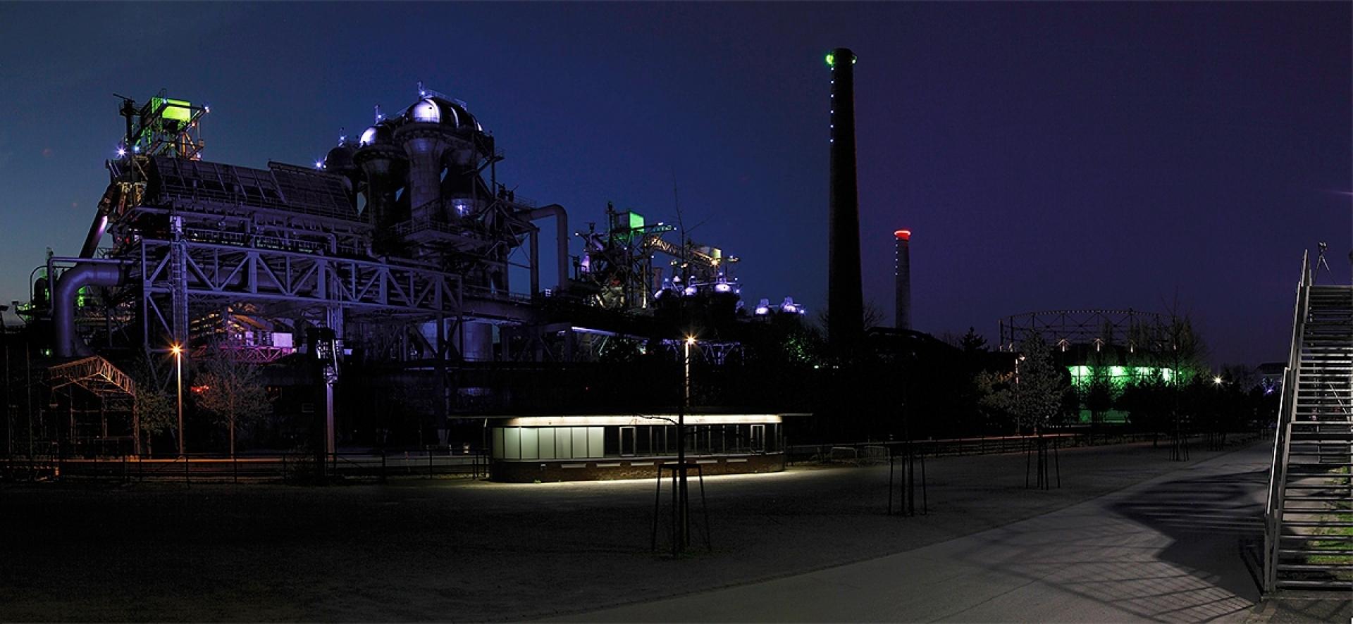 Lichtzeichnen im Landschaftspark - Canon Academy
