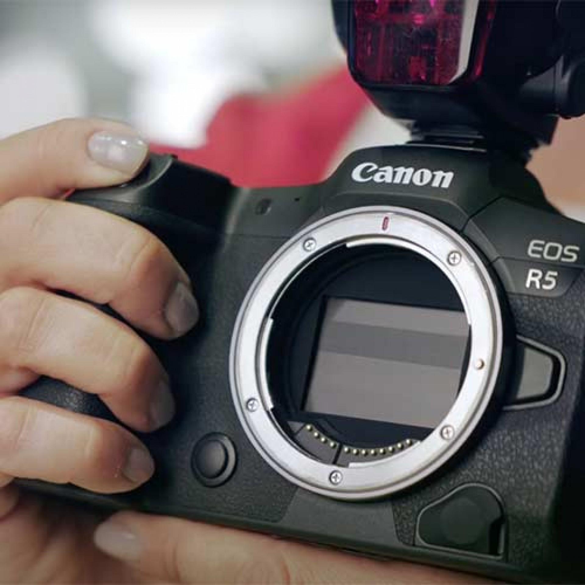Blitzen mit spiegellosen Canon Kameras, EOS R, EOS RP, EOS R5, EOS R6, E-TTL Blitzen