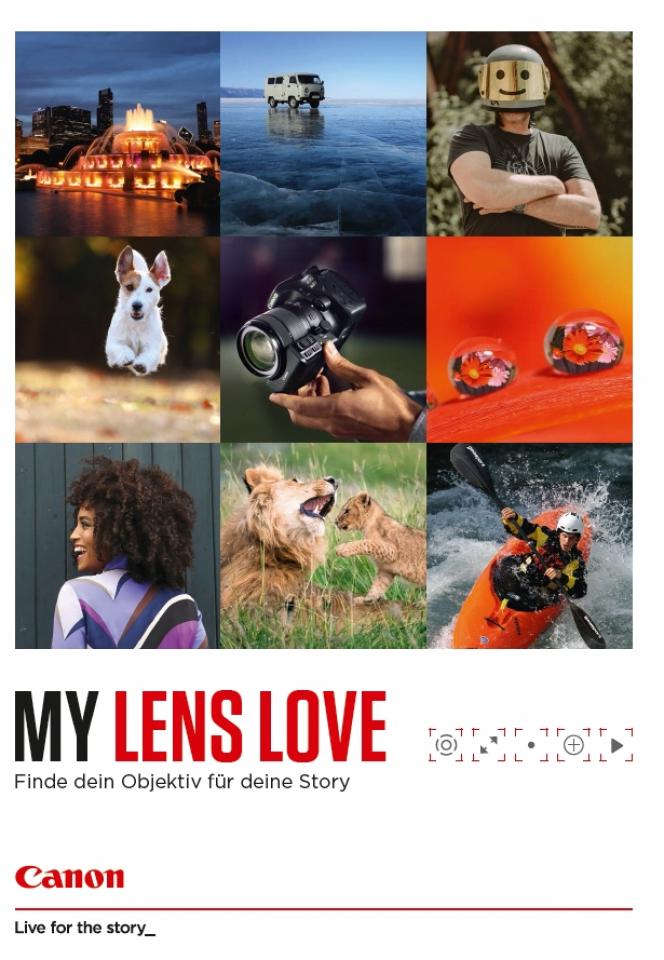 My Lens Love: die Objektivbroschüre