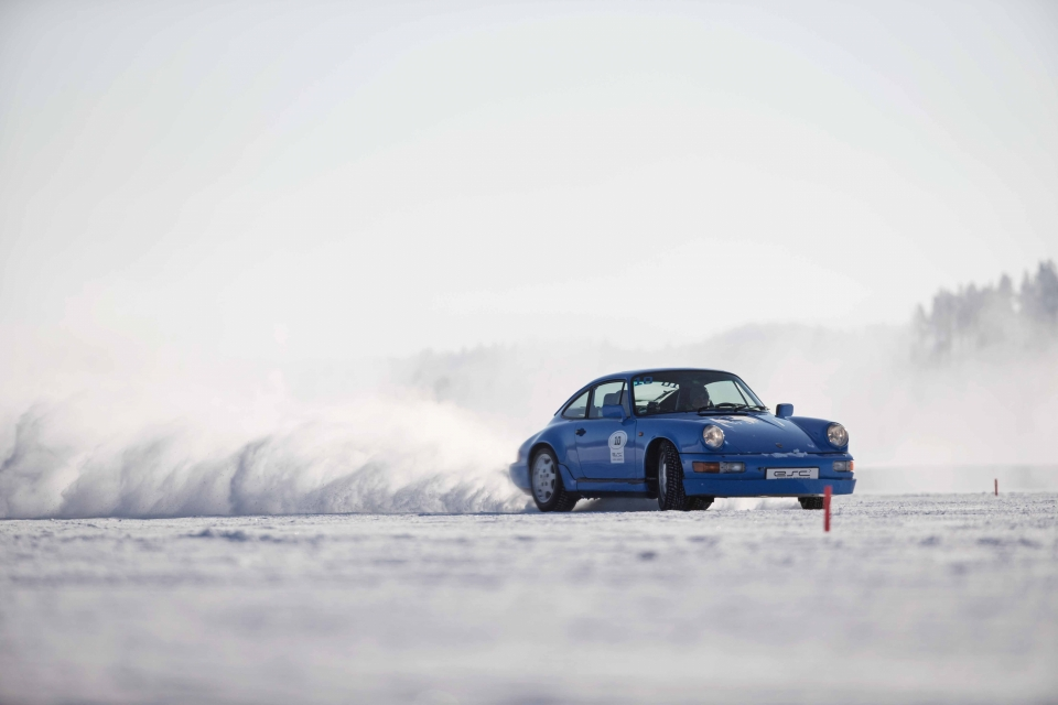 Walch Winter Action Lappland Porsche