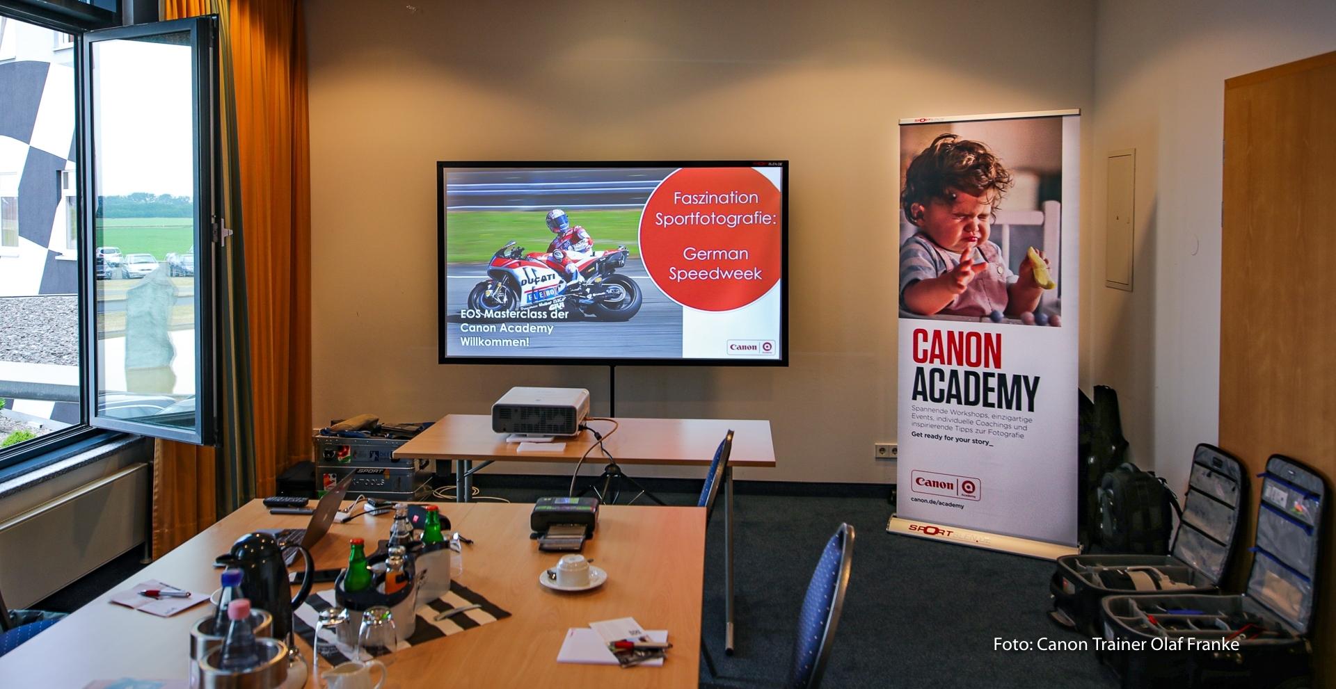 German Speedweek Oschersleben - Motorradrennen - Canon Academy Sport