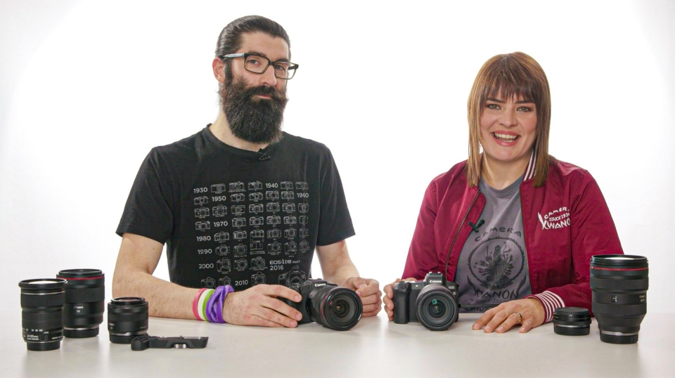 EOS R und EOS RP im Vergleich - Canon Academy Talks