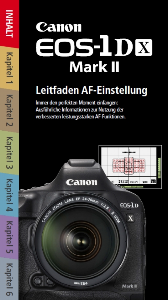 EOS-1D X Mark II AF Leitfaden