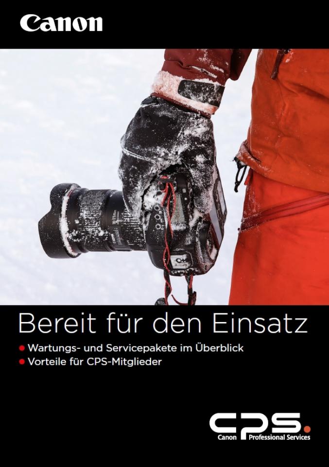 Canon Service Broschüre